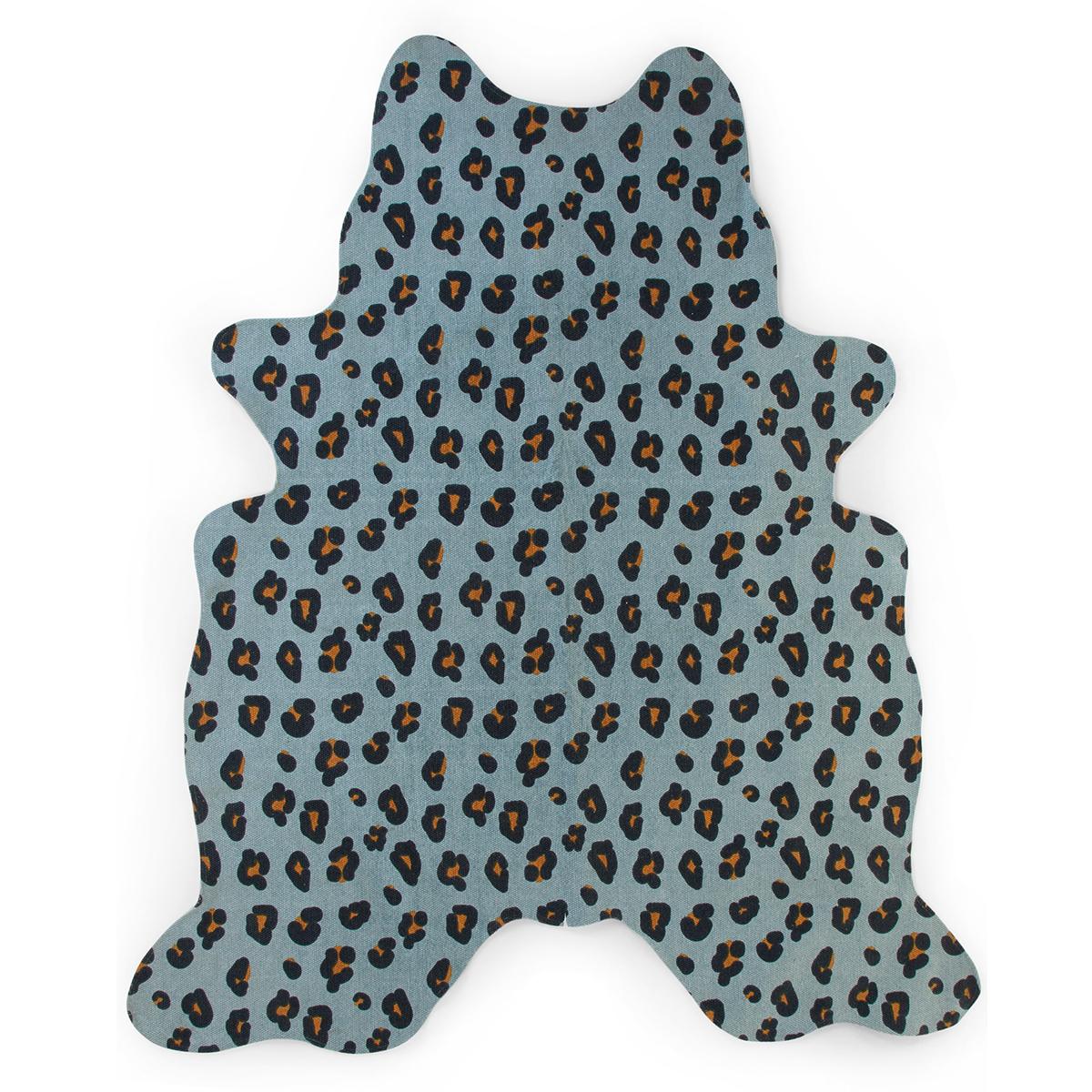 Tapis Tapis Leopard Bleu - 145 x 160 cm Tapis Leopard Bleu - 145 x 160 cm