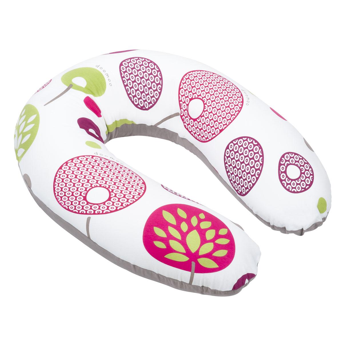 Coussin allaitement Coussin de Maternité Doomoo - Flower Prune Coussin de Maternité Doomoo - Flower Prune