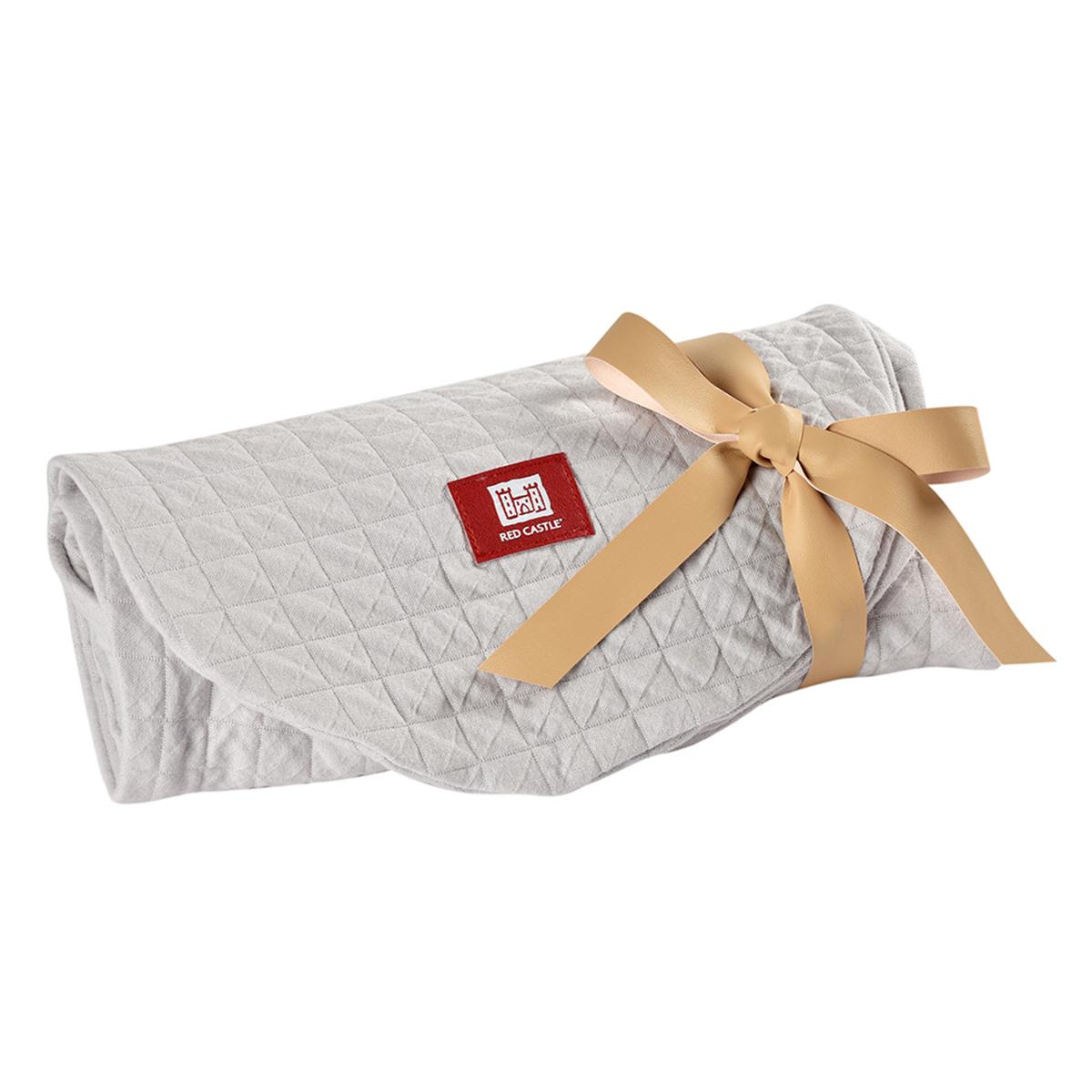 Coussin allaitement Housse Big Flopsy Fleur de Coton - Gris Perle Housse Big Flopsy Fleur de Coton - Gris Perle