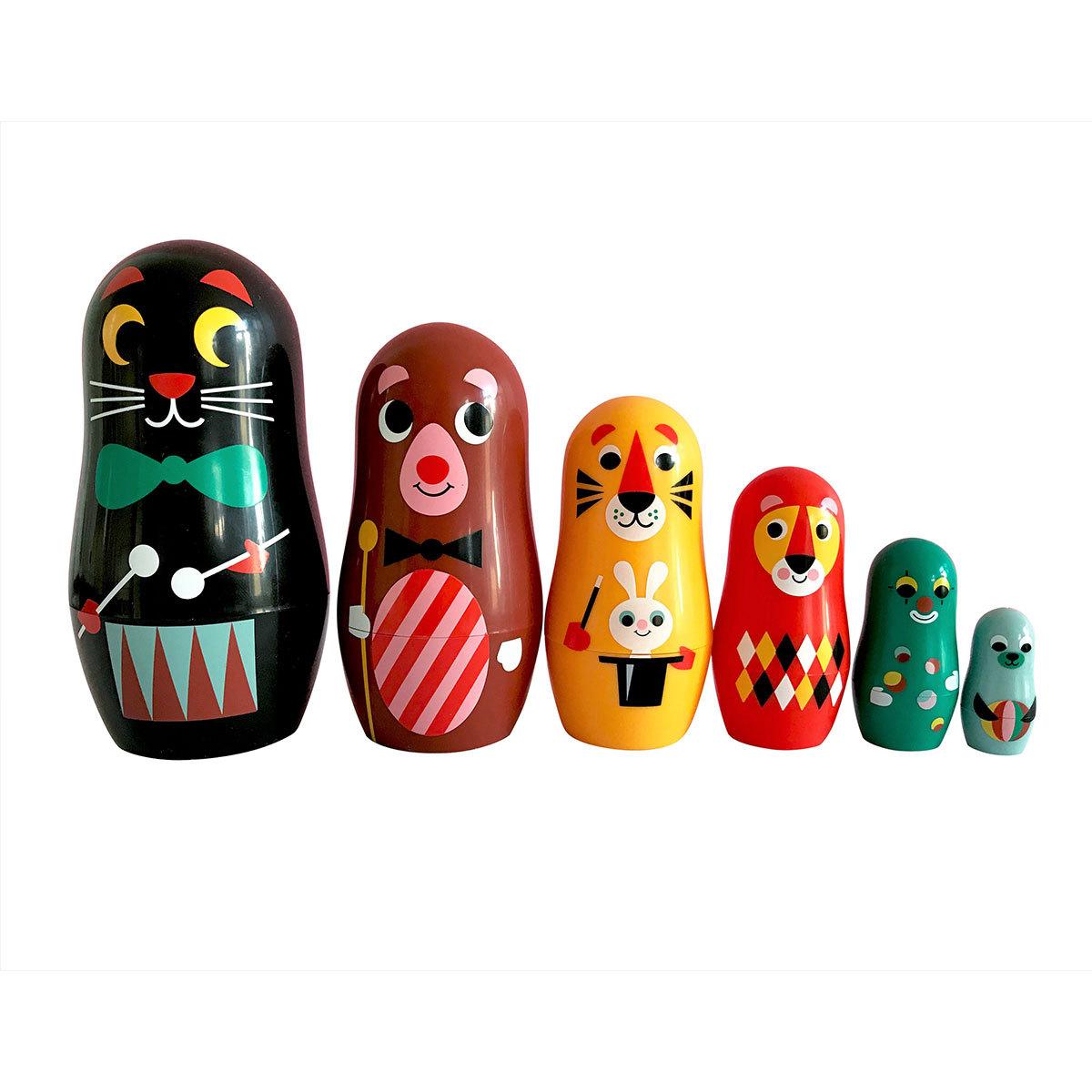Mes premiers jouets Poupées Russes Matriochka - Carnaval Poupées Russes Matriochka - Carnaval