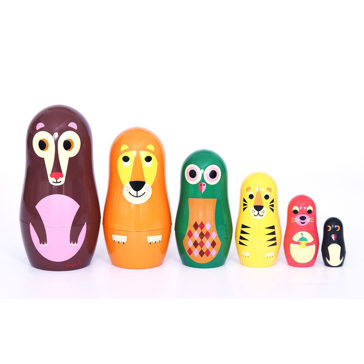 Mes premiers jouets Poupées Russes Matriochka - Animaux Poupées Russes Matriochka - Animaux