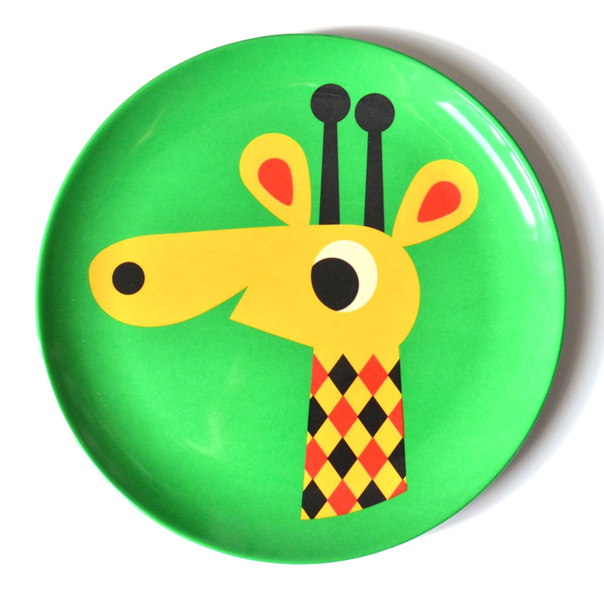 Vaisselle & Couvert Assiette Girafe par Ingela P. Arrhenius Assiette Girafe par Ingela P. Arrhenius