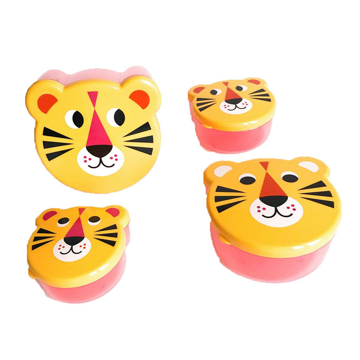 Vaisselle & Couvert Boîte à Goûter Gigognes - Tigre