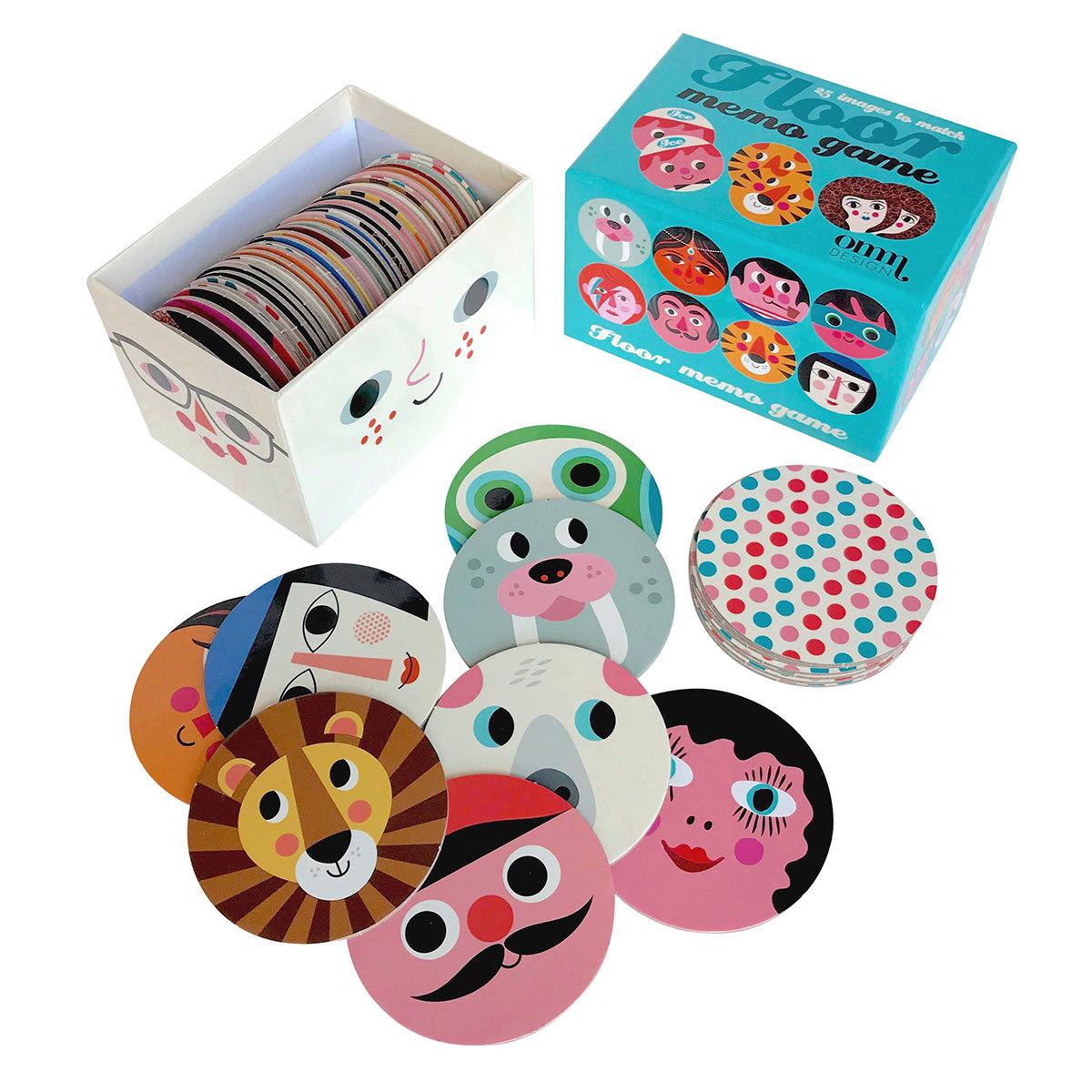 Mes premiers jouets Jeu de Memory Rond par Ingela P. Arrhenius Omm Design - AR201910140074