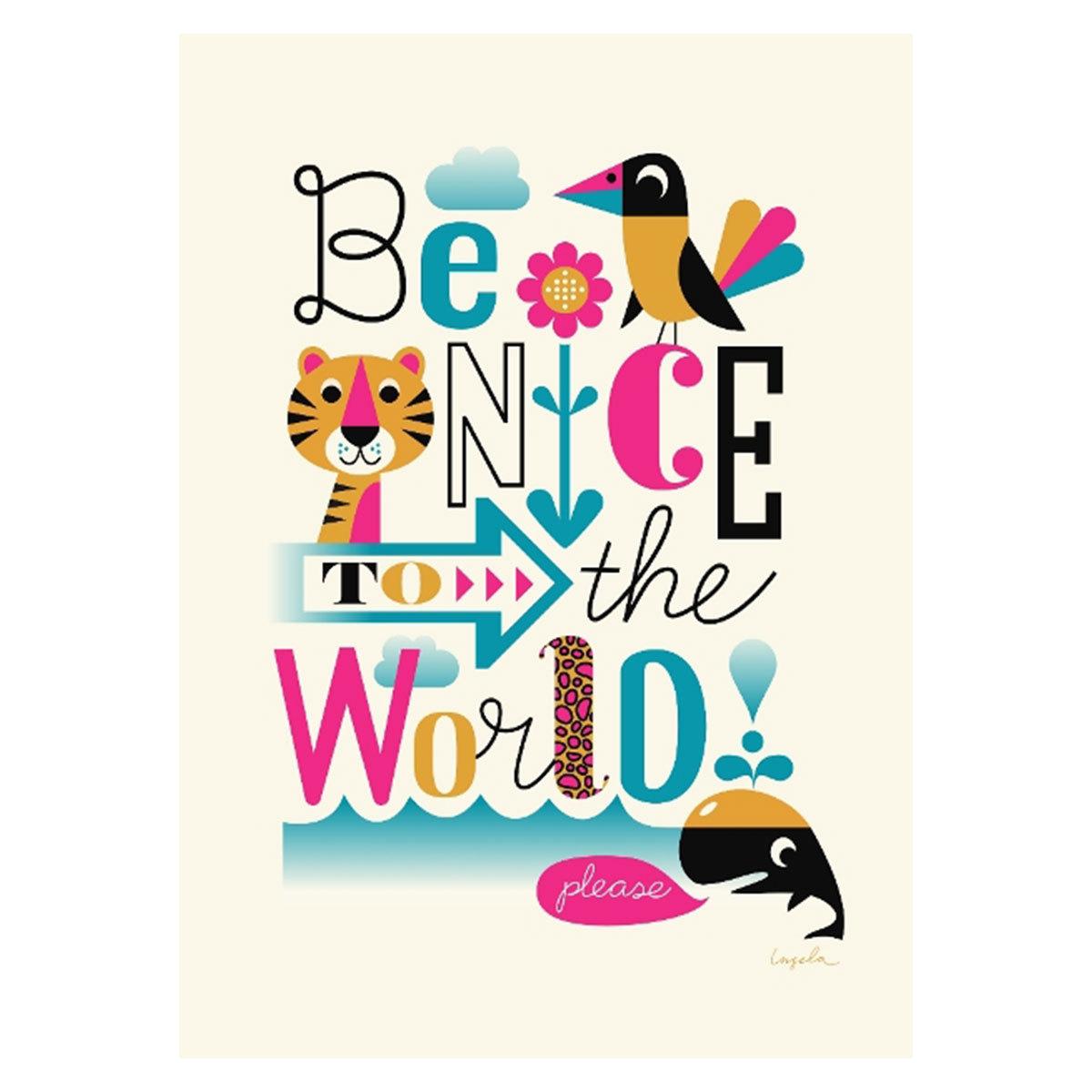 Affiche & poster Affiche WWF par Ingela P. Arrhenius
