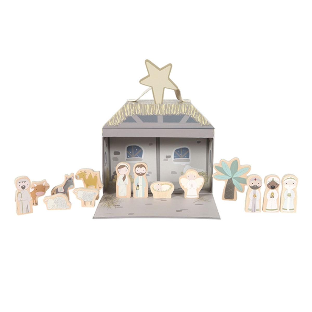 Mes premiers jouets Valisette Crèche de Noël Valisette Crèche de Noël