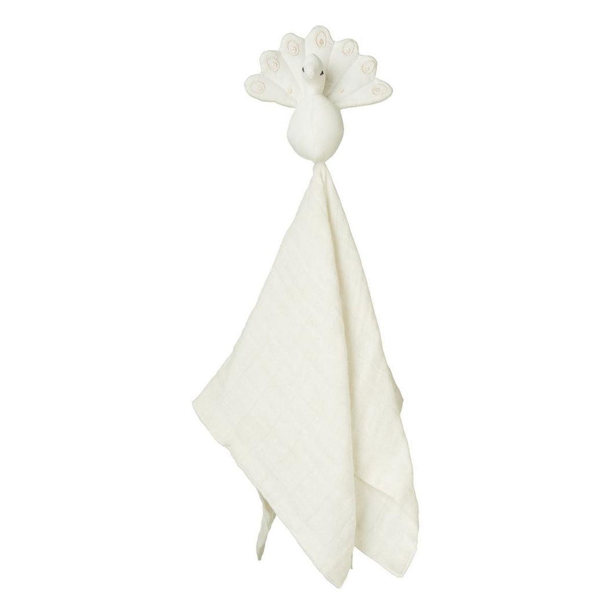 Doudou Doudou Paon - Blanc Crème Cam Cam - AR201910300023