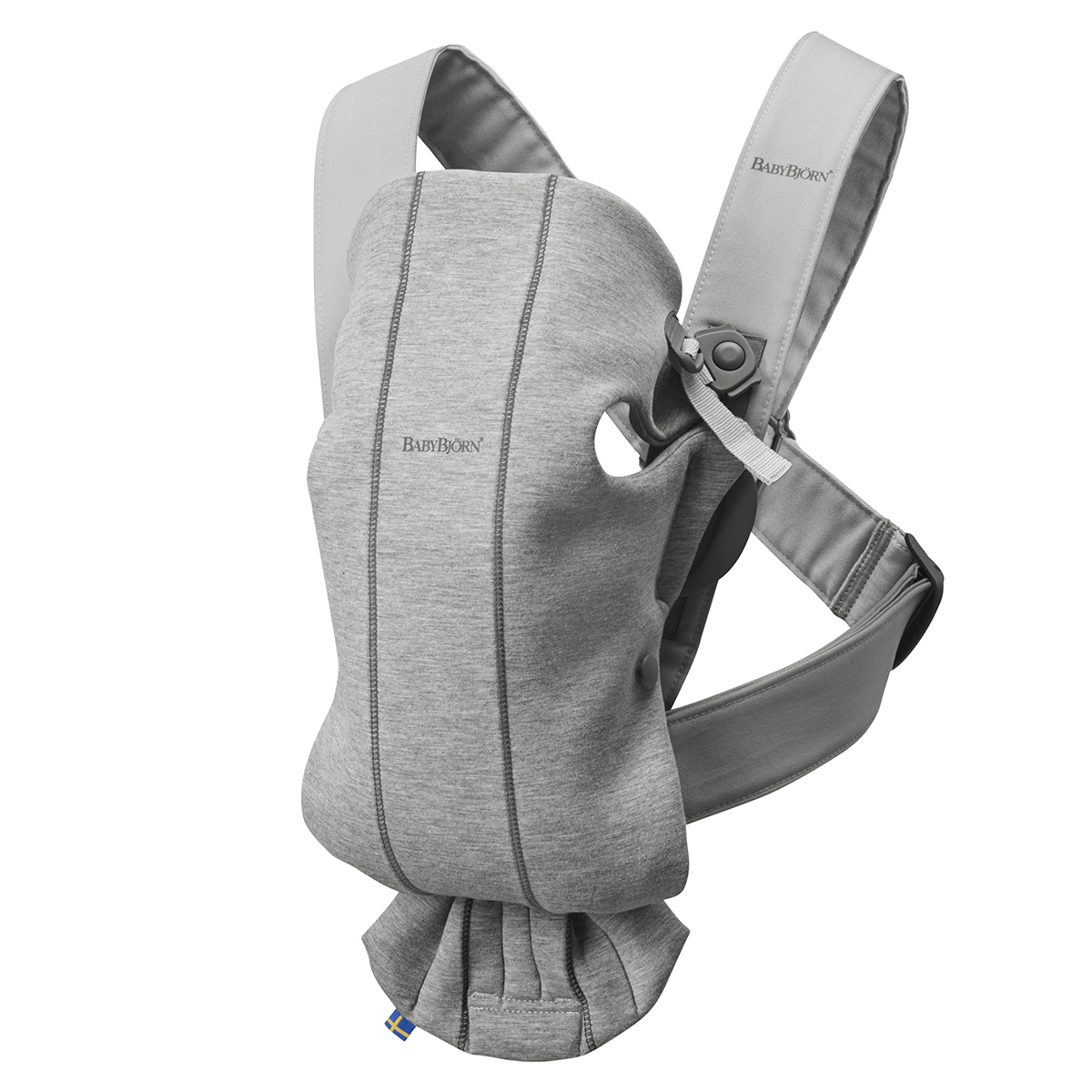 Porte bébé Porte-bébé Mini 3D Jersey - Gris Clair Porte-bébé Mini 3D Jersey - Gris Clair