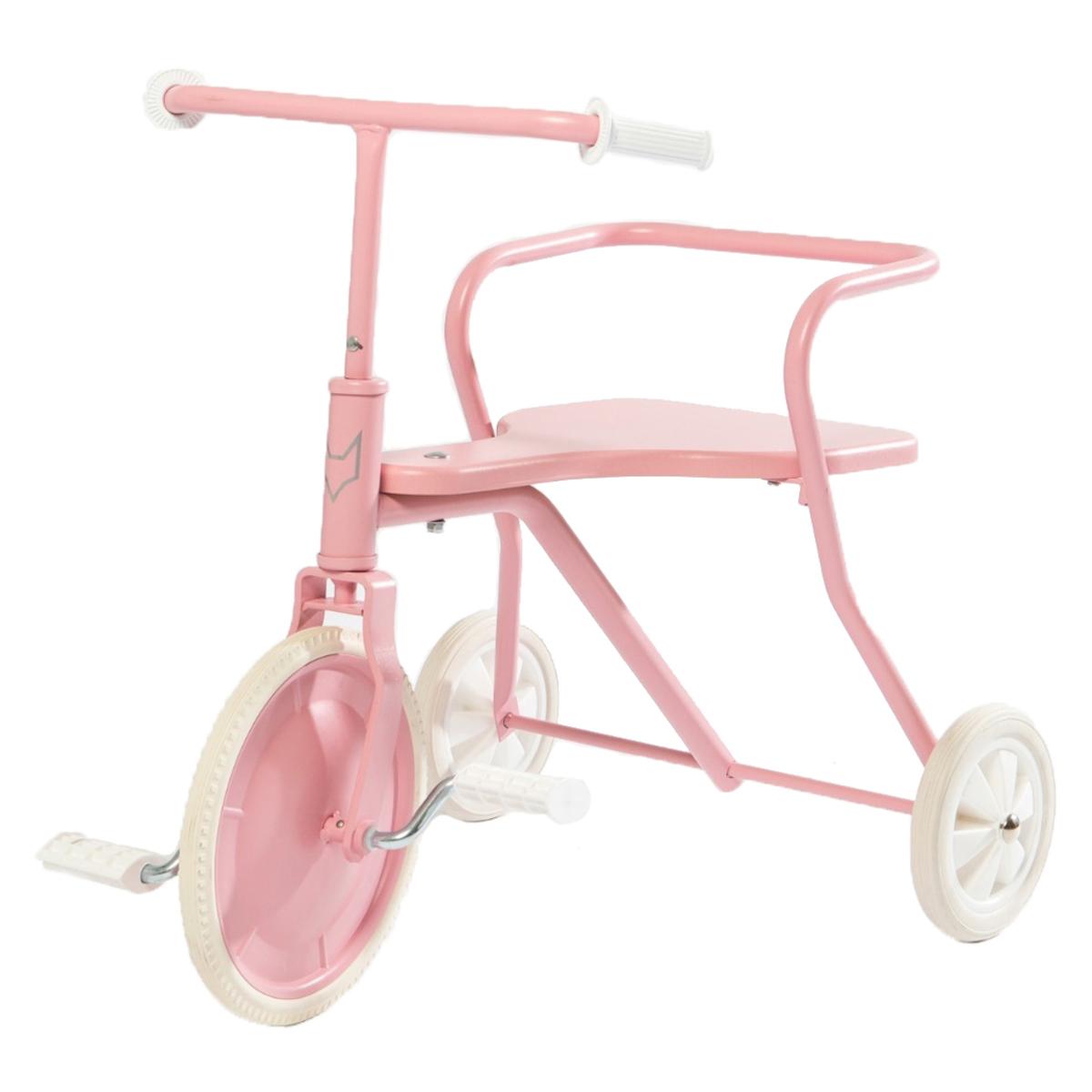 Trotteur & Porteur Tricycle en Métal - Rose Vintage Tricycle en Métal - Rose Vintage