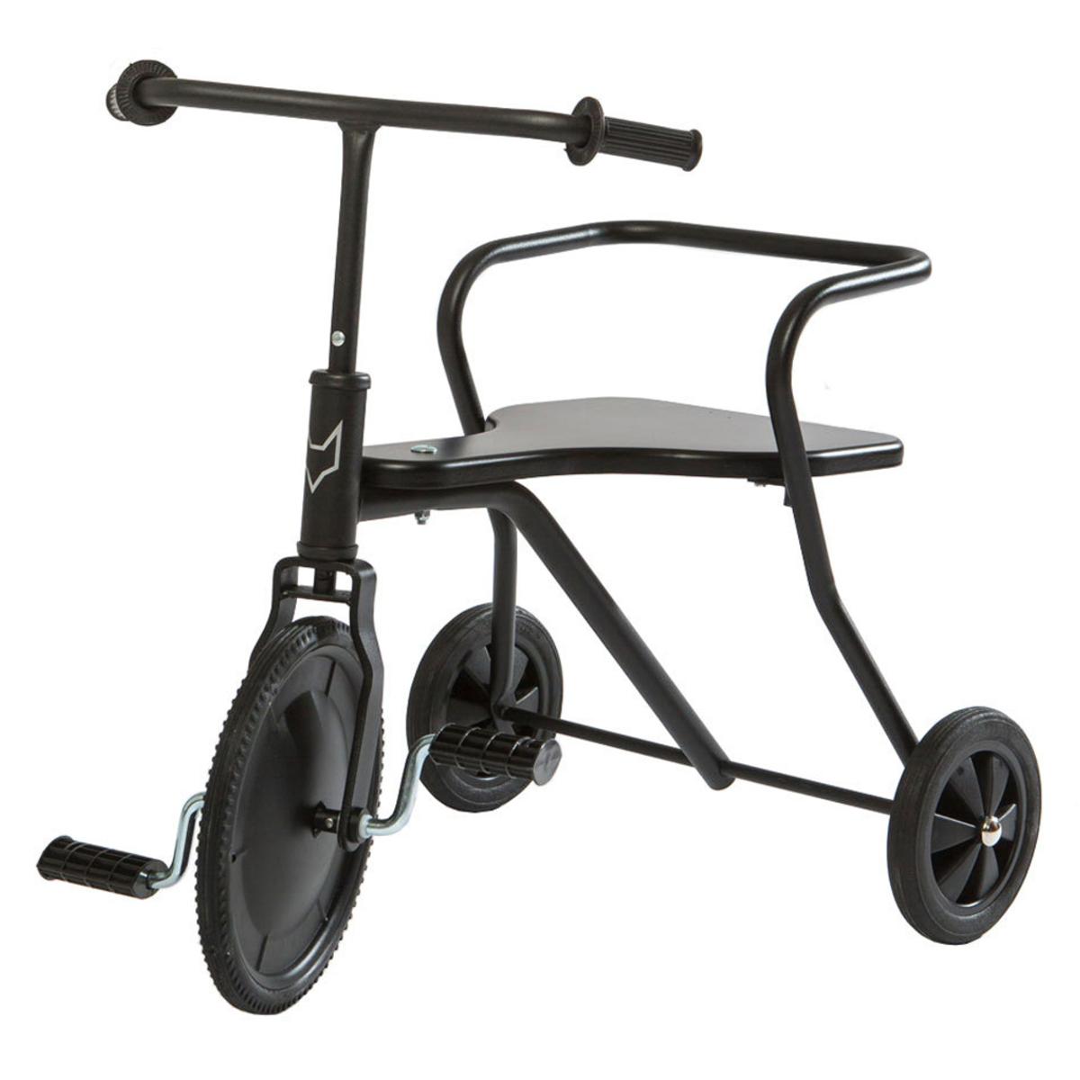 Trotteur & Porteur Tricycle en Métal - Noir Tricycle en Métal - Noir