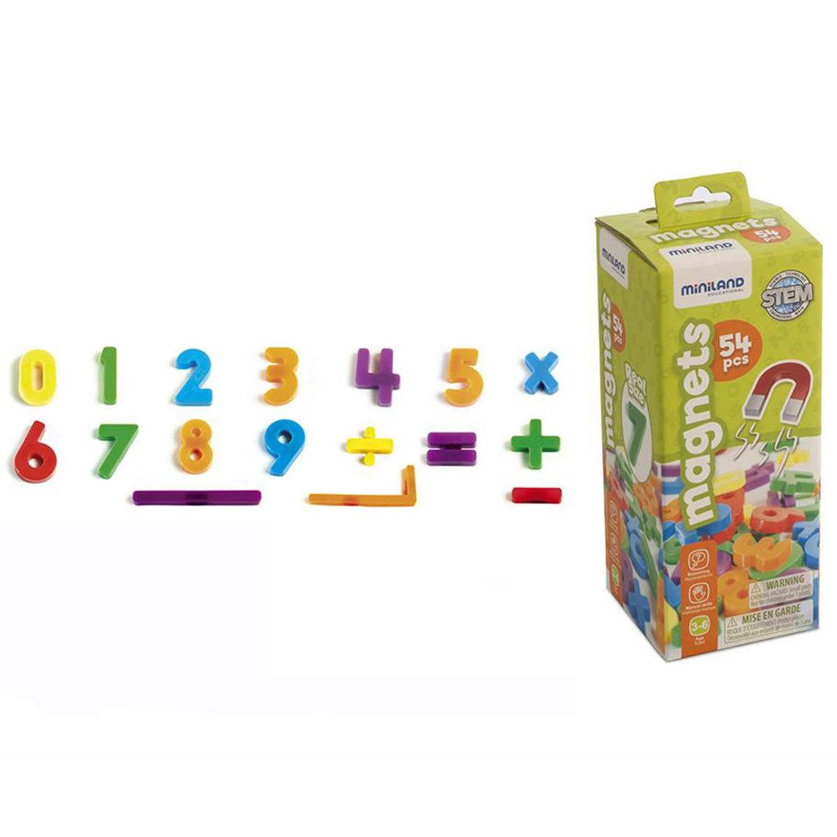 Mes premiers jouets Chiffres Magnétiques - 54 Pièces Chiffres Magnétiques - 54 Pièces
