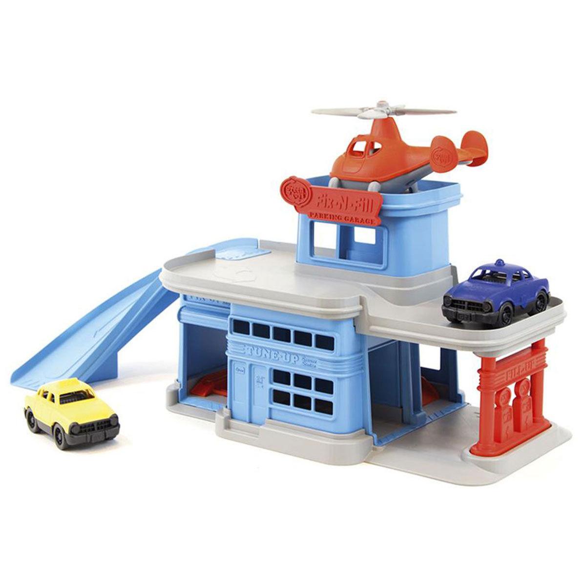 Mes premiers jouets Garage Hélicoptère et ses 2 véhicules Garage Hélicoptère et ses 2 véhicules