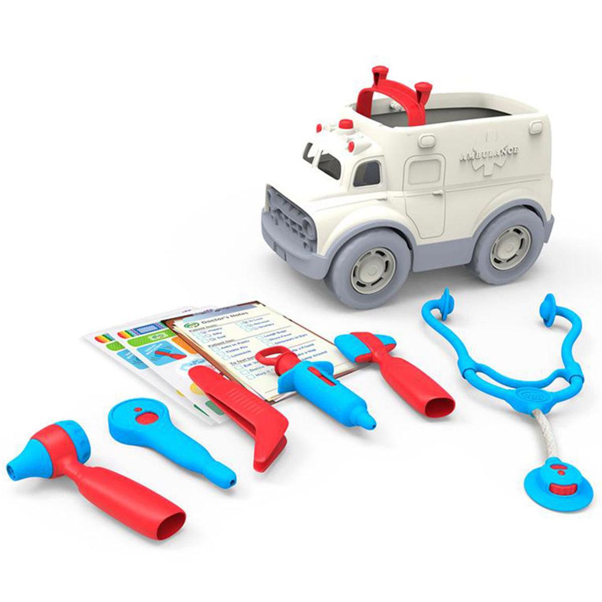 Mes premiers jouets Ambulance et Kit de Médecin Ambulance et Kit de Médecin