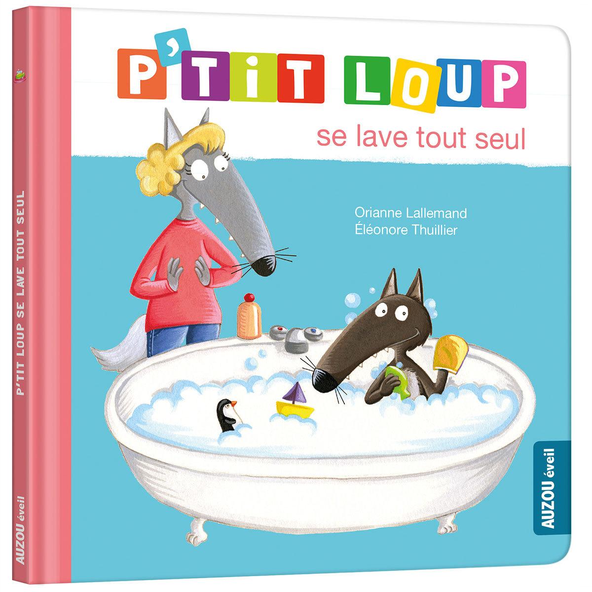 Livre & Carte P'tit Loup se lave tout seul P'tit Loup se lave tout seul