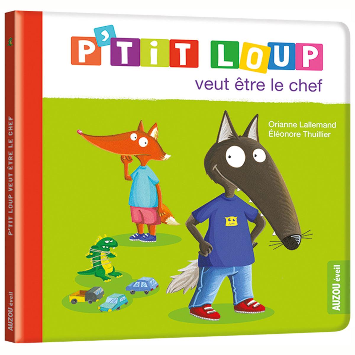 Livre & Carte P'tit Loup veut être le chef