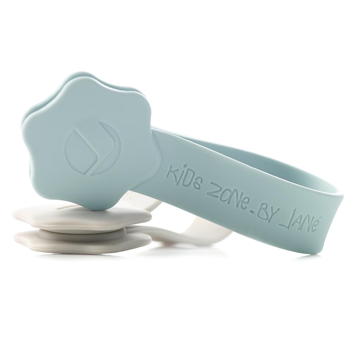 Accessoires poussette Lot de 4 Rubans Magnétiques pour Langes Sling - Aqua Blue