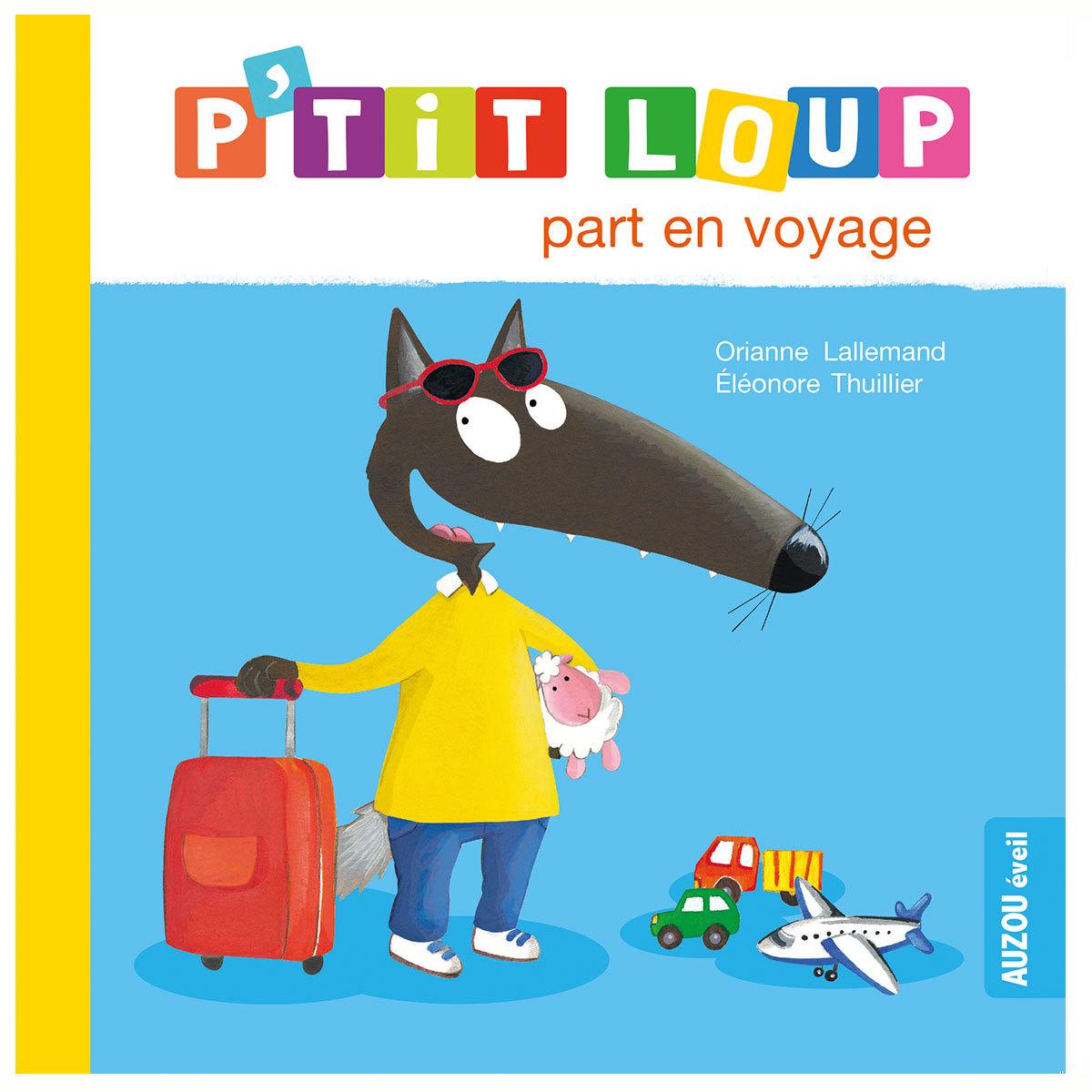 Livre & Carte P'tit Loup part en voyage