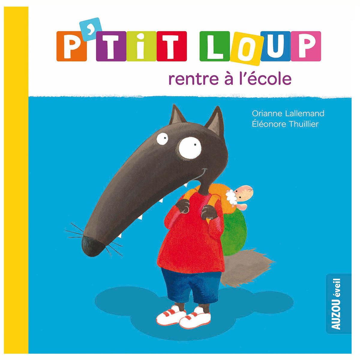 Livre & Carte P'tit Loup rentre à l'école P'tit Loup rentre à l'école