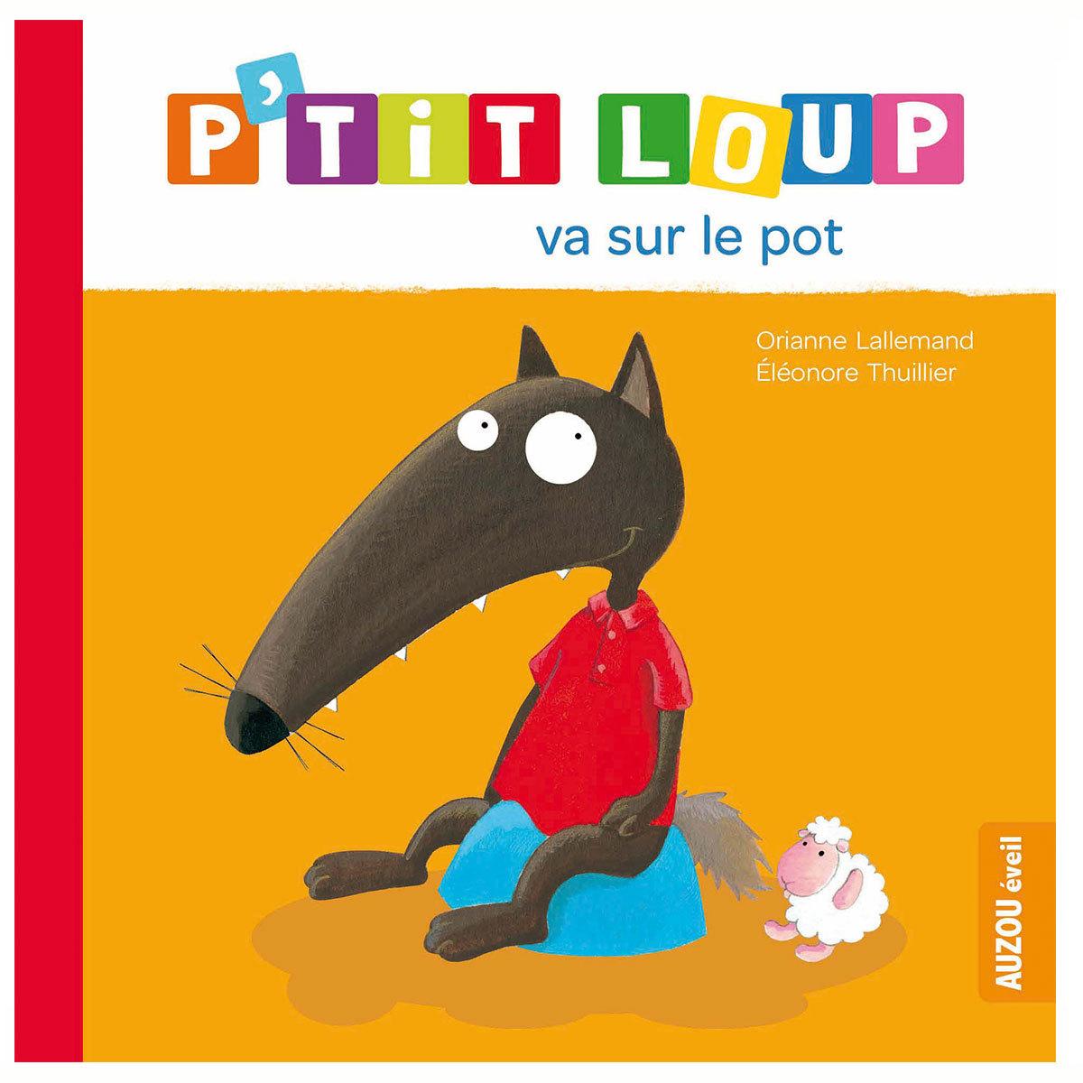 Livre & Carte P'tit Loup va sur le pot P'tit Loup va sur le pot