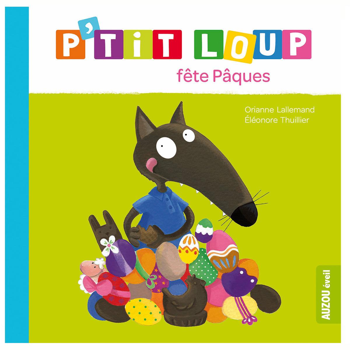 Livre & Carte P'tit Loup fête Pâques
