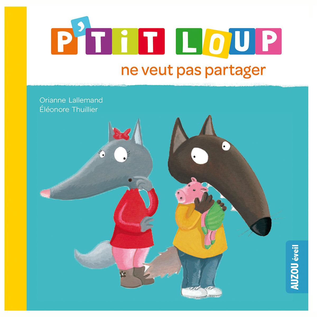 Livre & Carte P'tit Loup ne veut pas partager