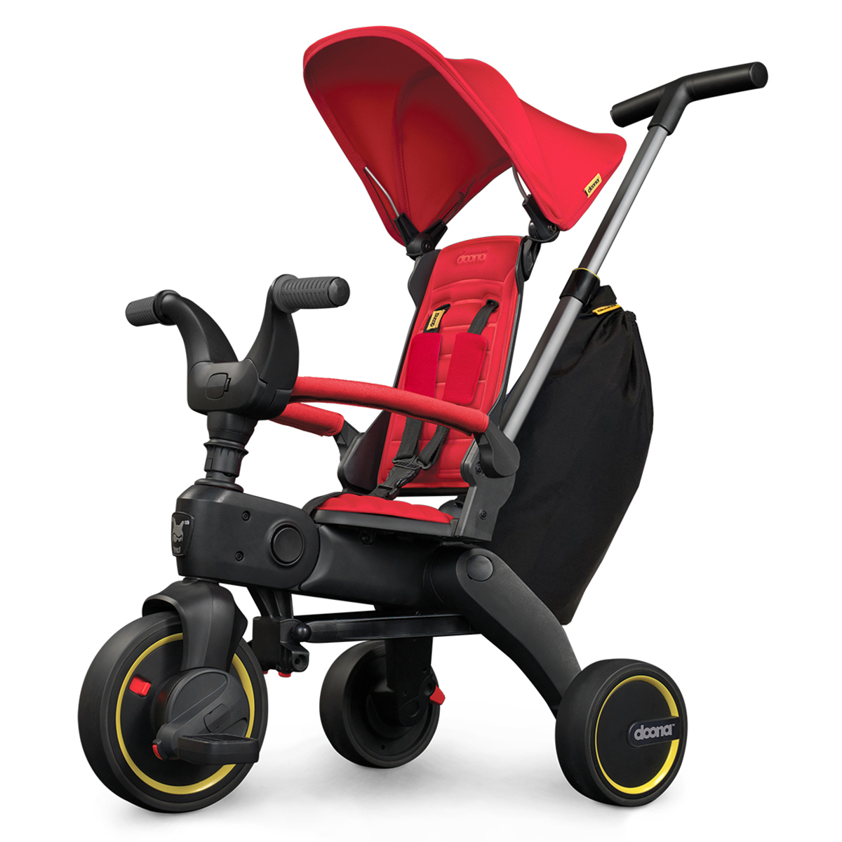 Trotteur & Porteur Tricycle Evolutif Compact Liki Trike S3 - Rouge Tricycle Evolutif Compact Liki Trike S3 - Rouge