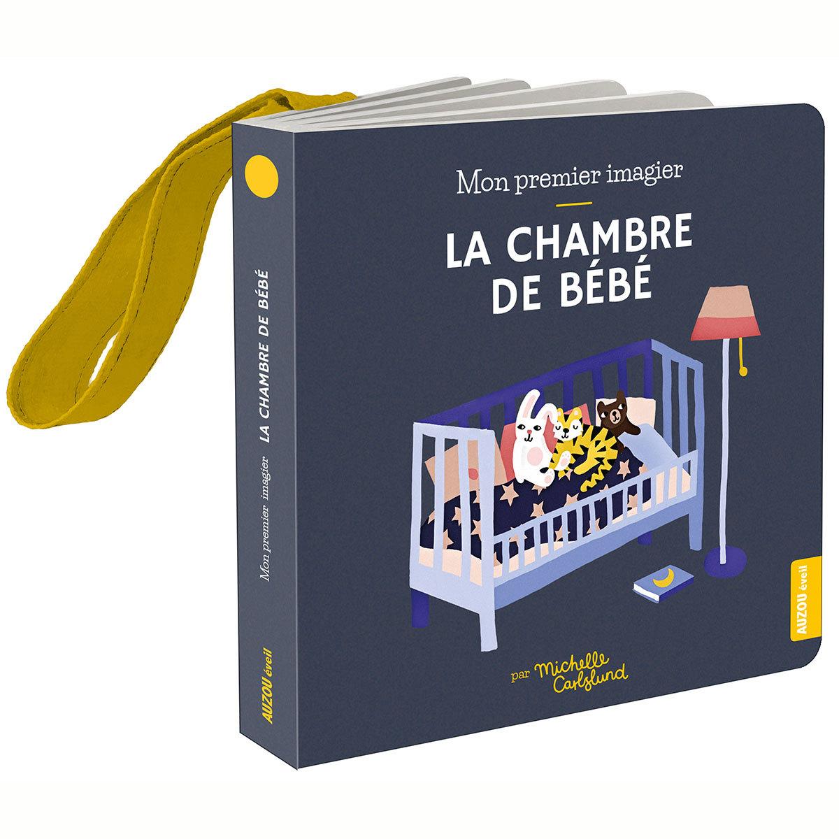 Livre & Carte Mon Premier Imagier Accroche-Poussette - La Chambre de Bébé