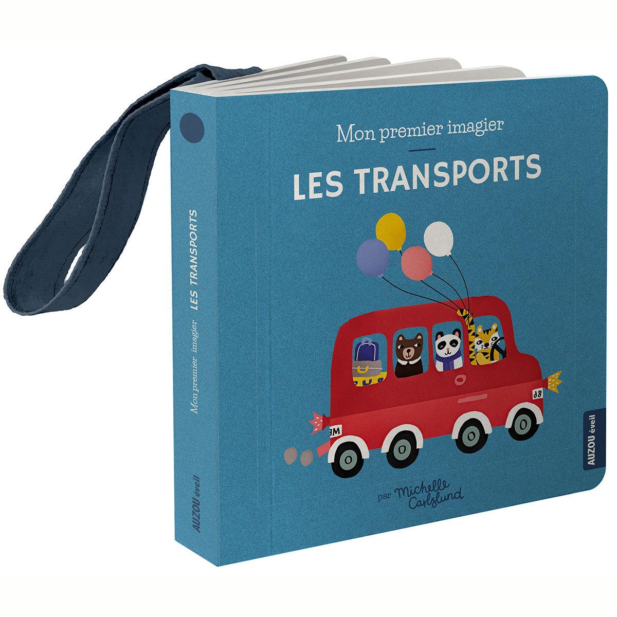 Livre & Carte Mon Premier Imagier Accroche-Poussette - Les Transports