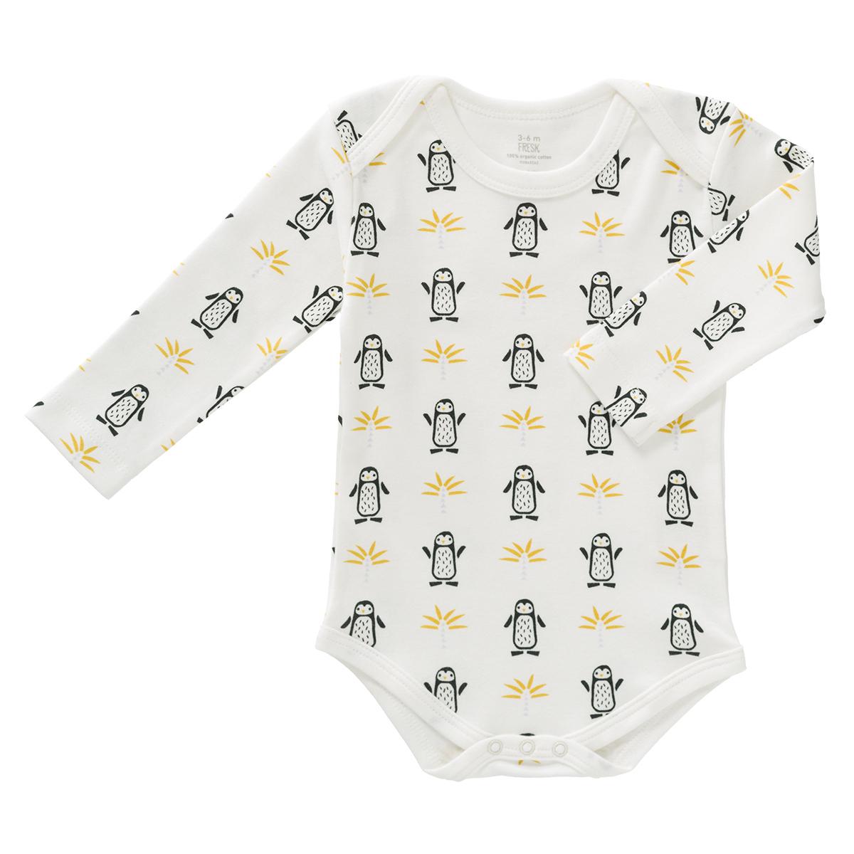 Body & Pyjama Body Manches Longues Pingouins - 6/12 Mois