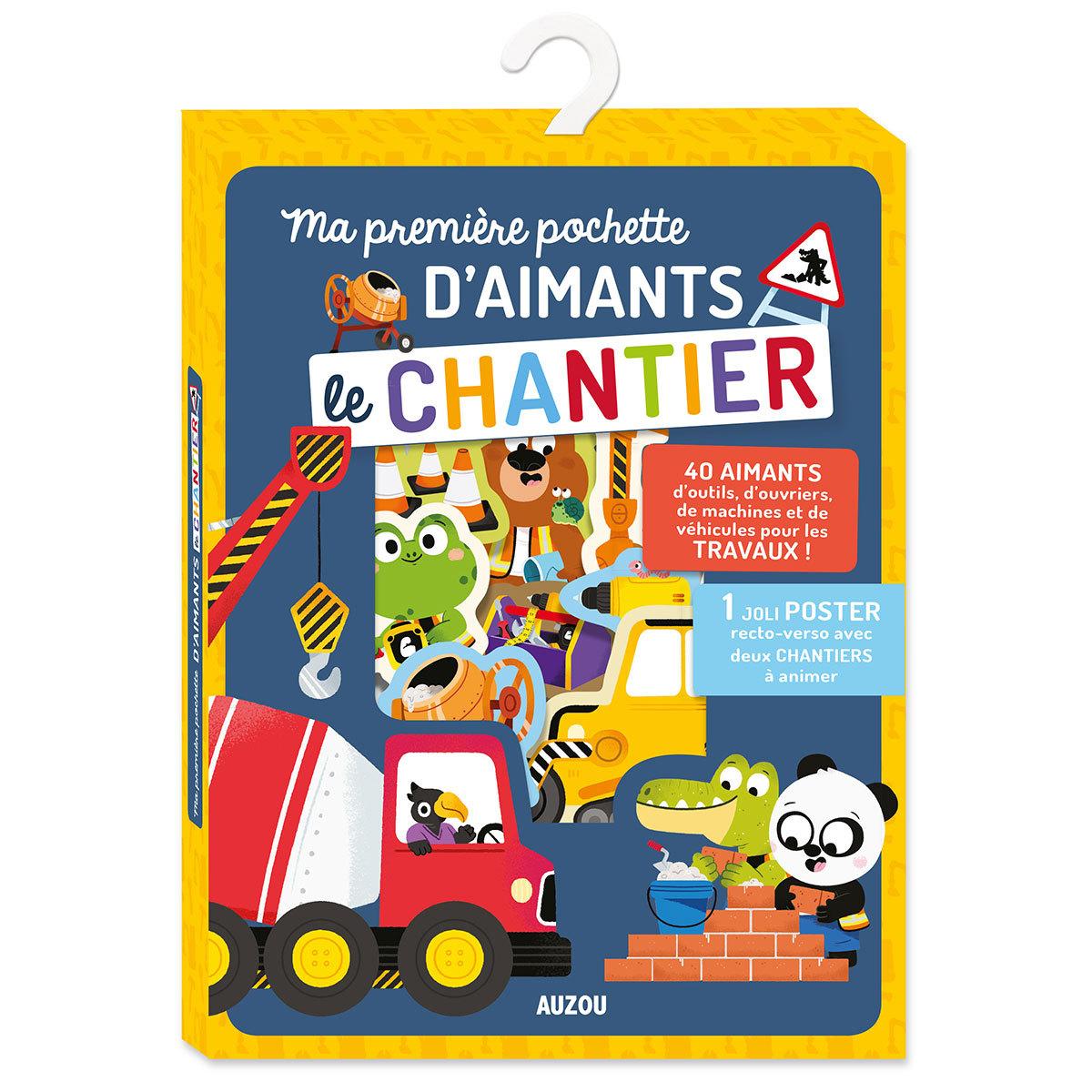 Mes premiers jouets Ma Première Pochette d'Aimants - Le Chantier Ma Première Pochette d'Aimants - Le Chantier