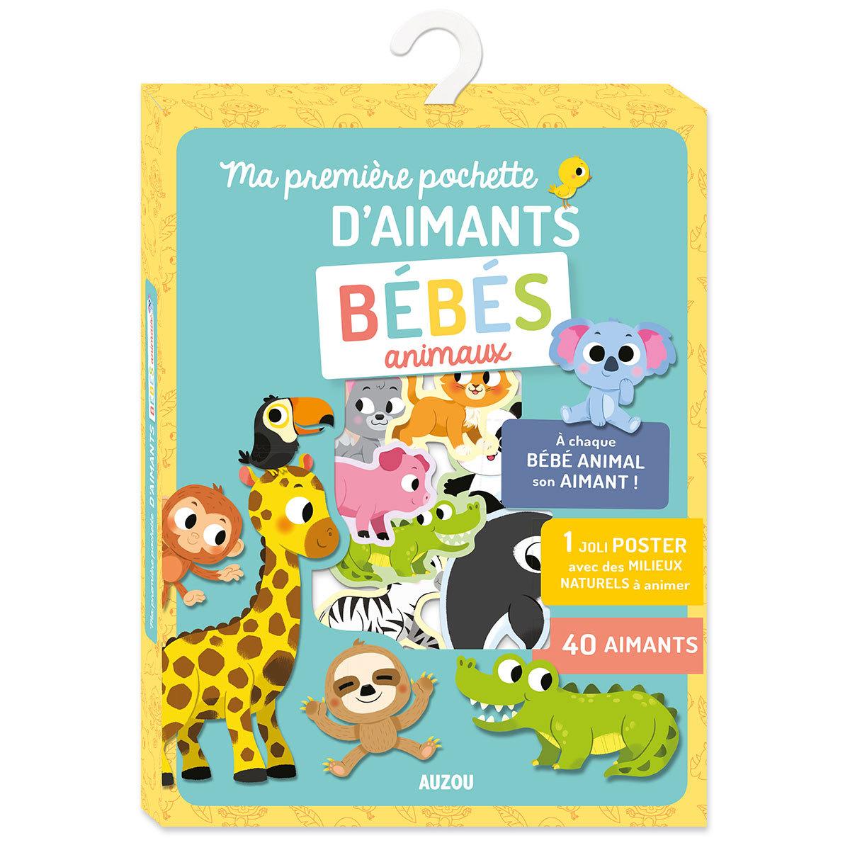 Mes premiers jouets Ma Première Pochette d'Aimants - Bébés Animaux