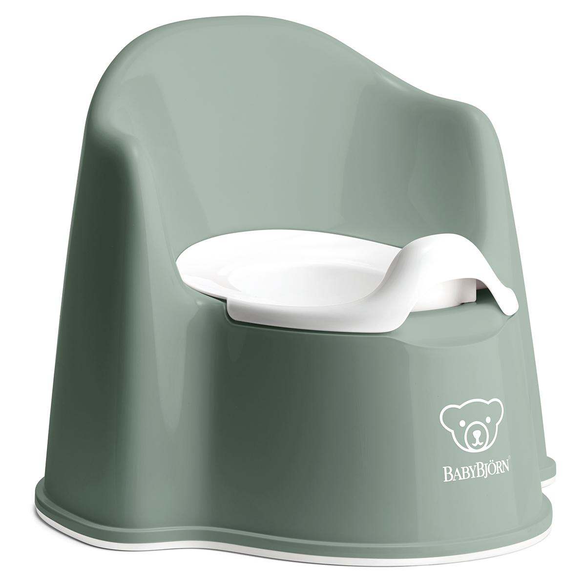 Pot & Réducteur Pot Fauteuil - Vert Profond et Blanc Pot Fauteuil - Vert Profond et Blanc