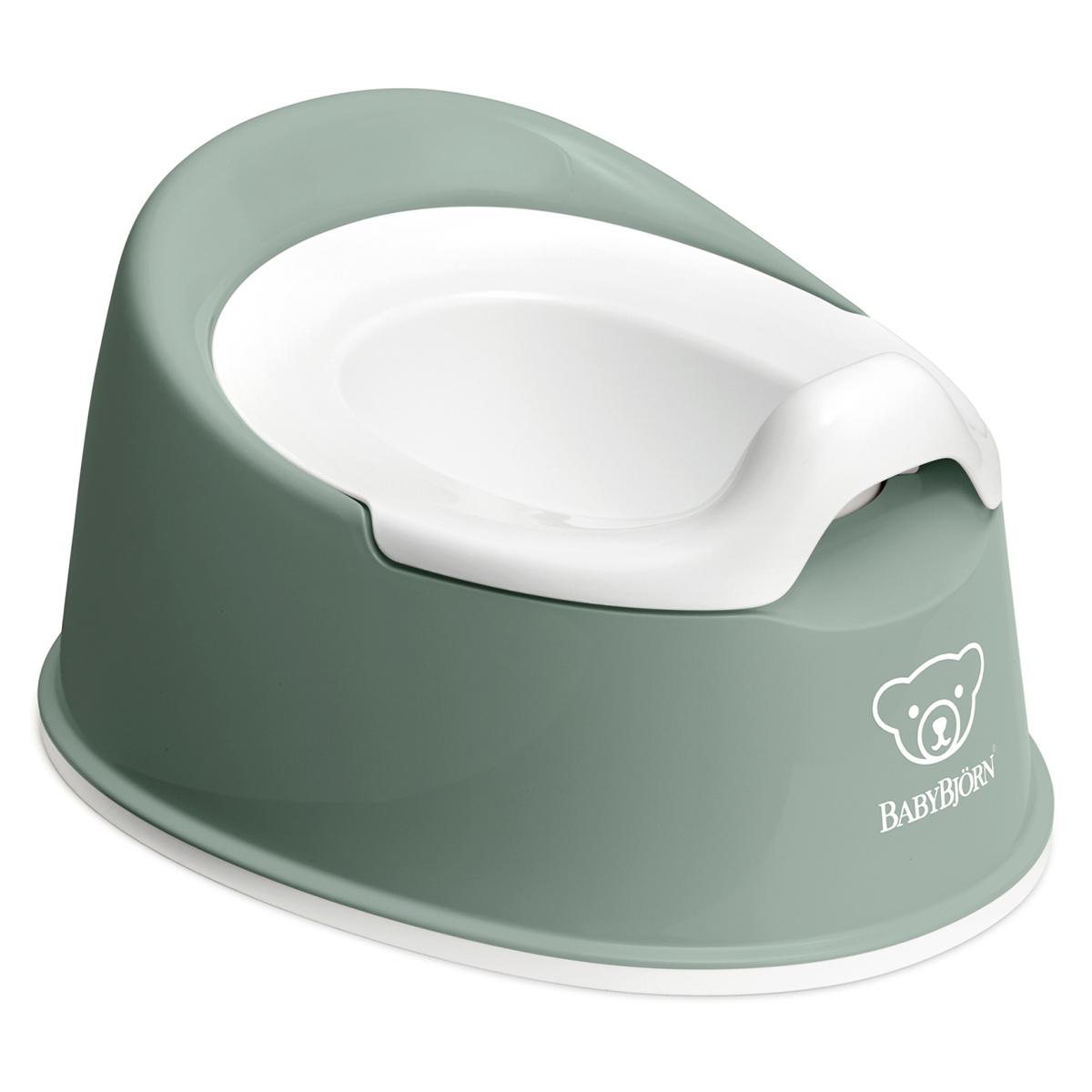 Pot & Réducteur Pot Smart - Vert Profond et Blanc Pot Smart - Vert Profond et Blanc