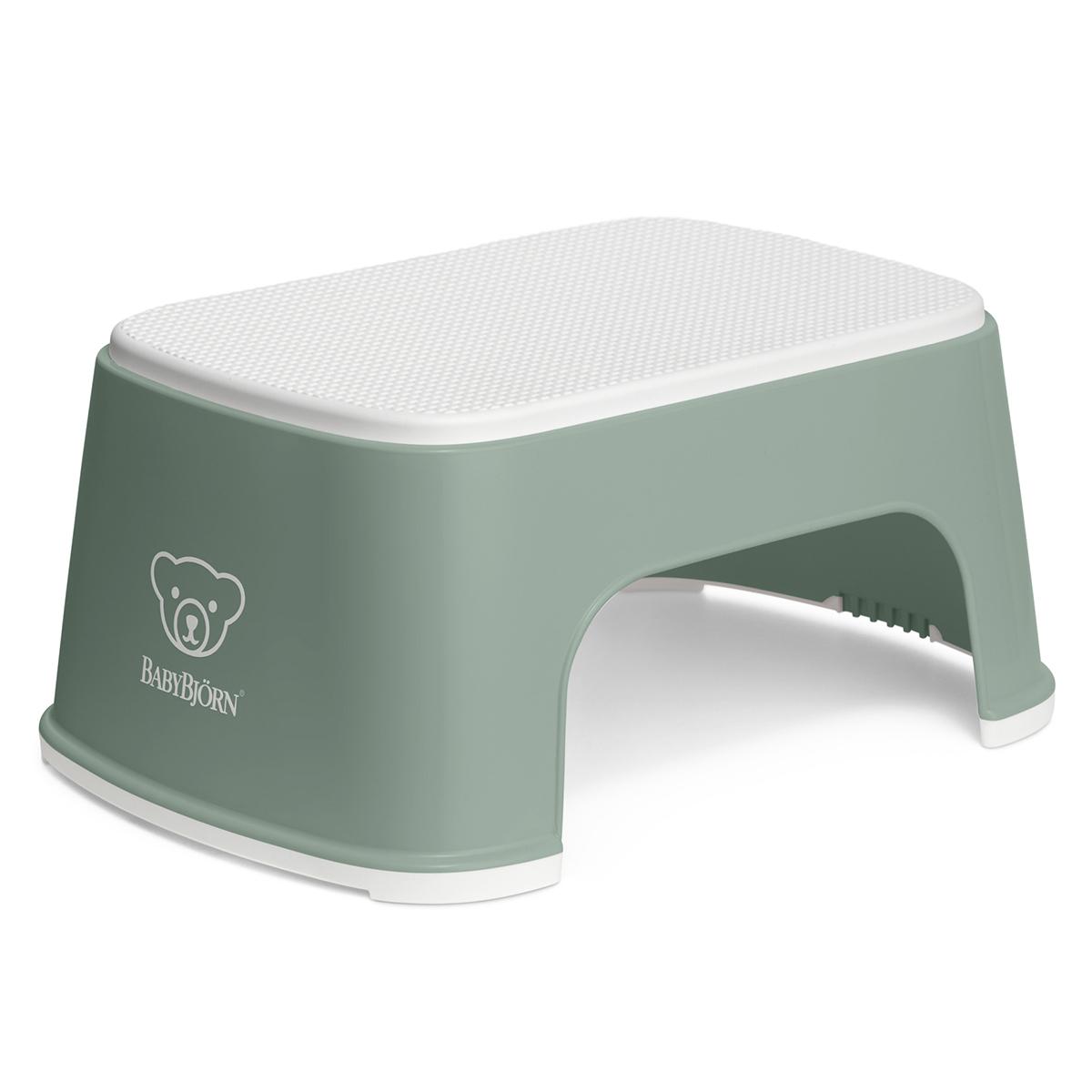 Pot & Réducteur Marchepied - Vert Profond et Blanc