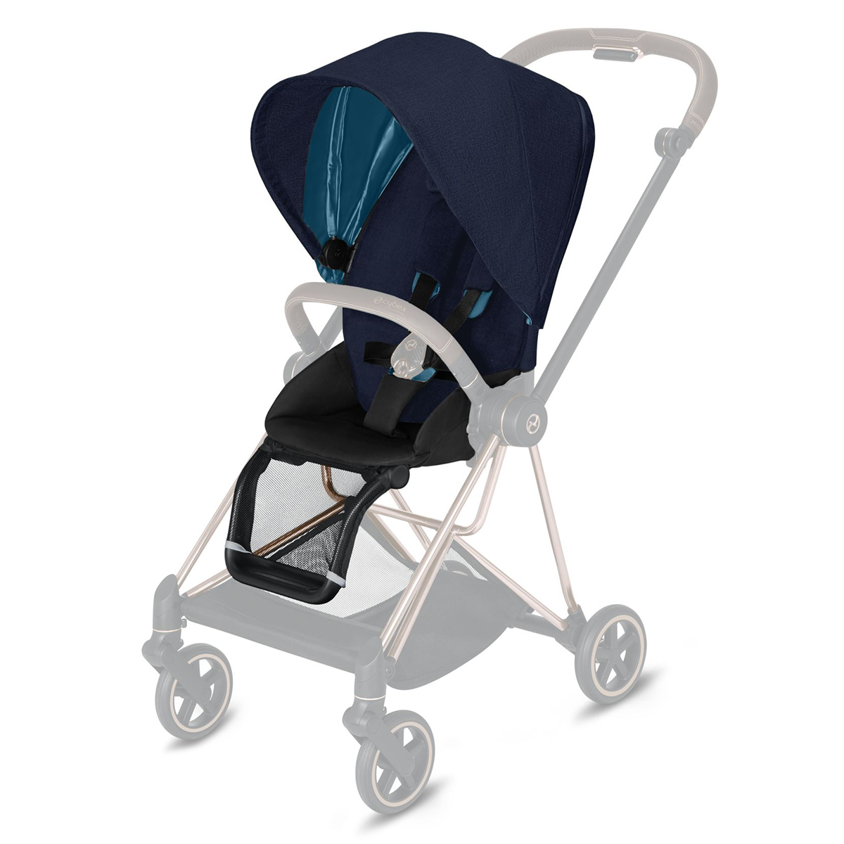 Accessoires poussette Pack Siège Mios Plus - Midnight Blue