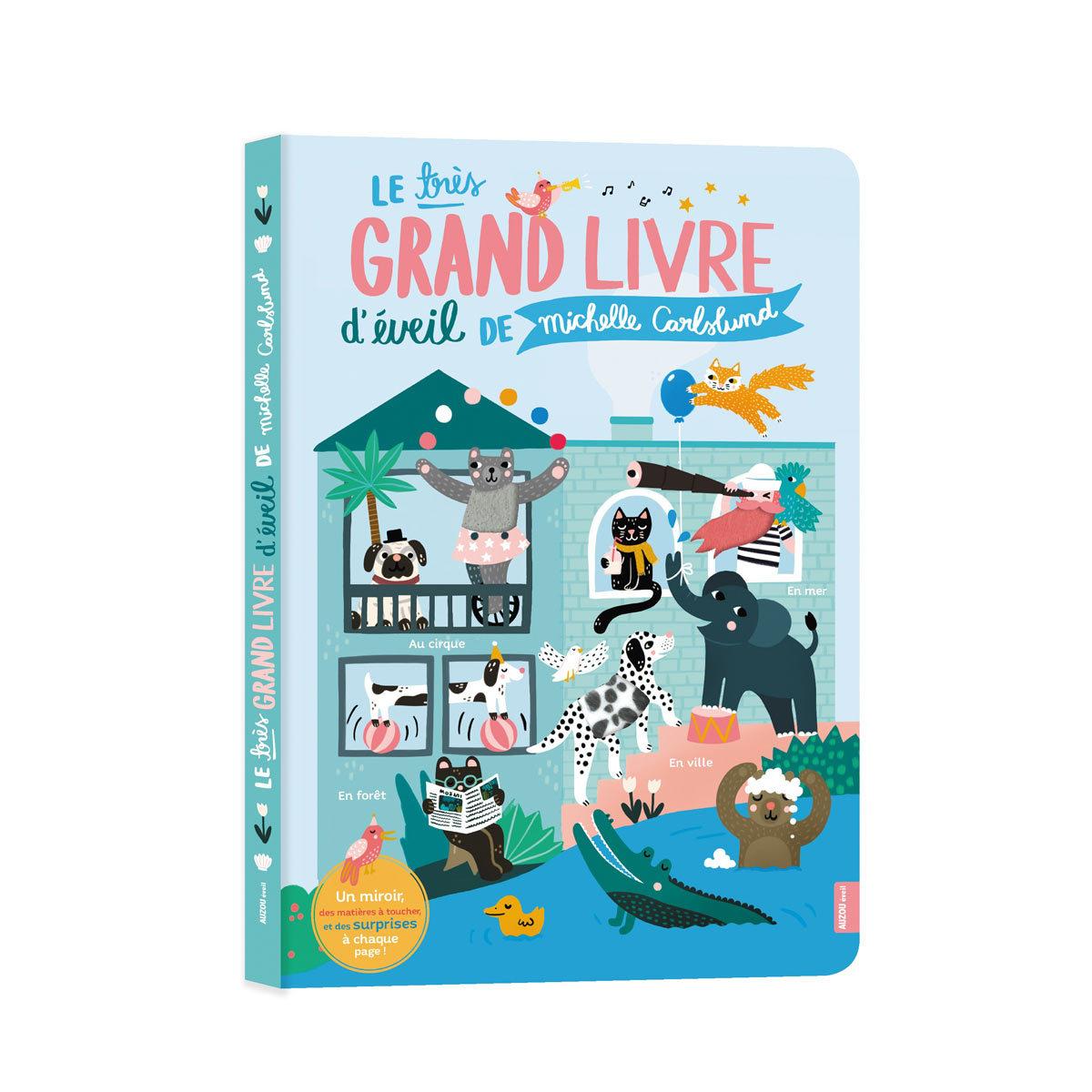Livre & Carte Le Très Grand Livre d'Eveil de Michelle Carlslund