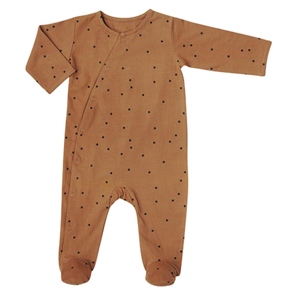 Body & Pyjama Combinaison Jour et Nuit Pois Nut - 1 Mois