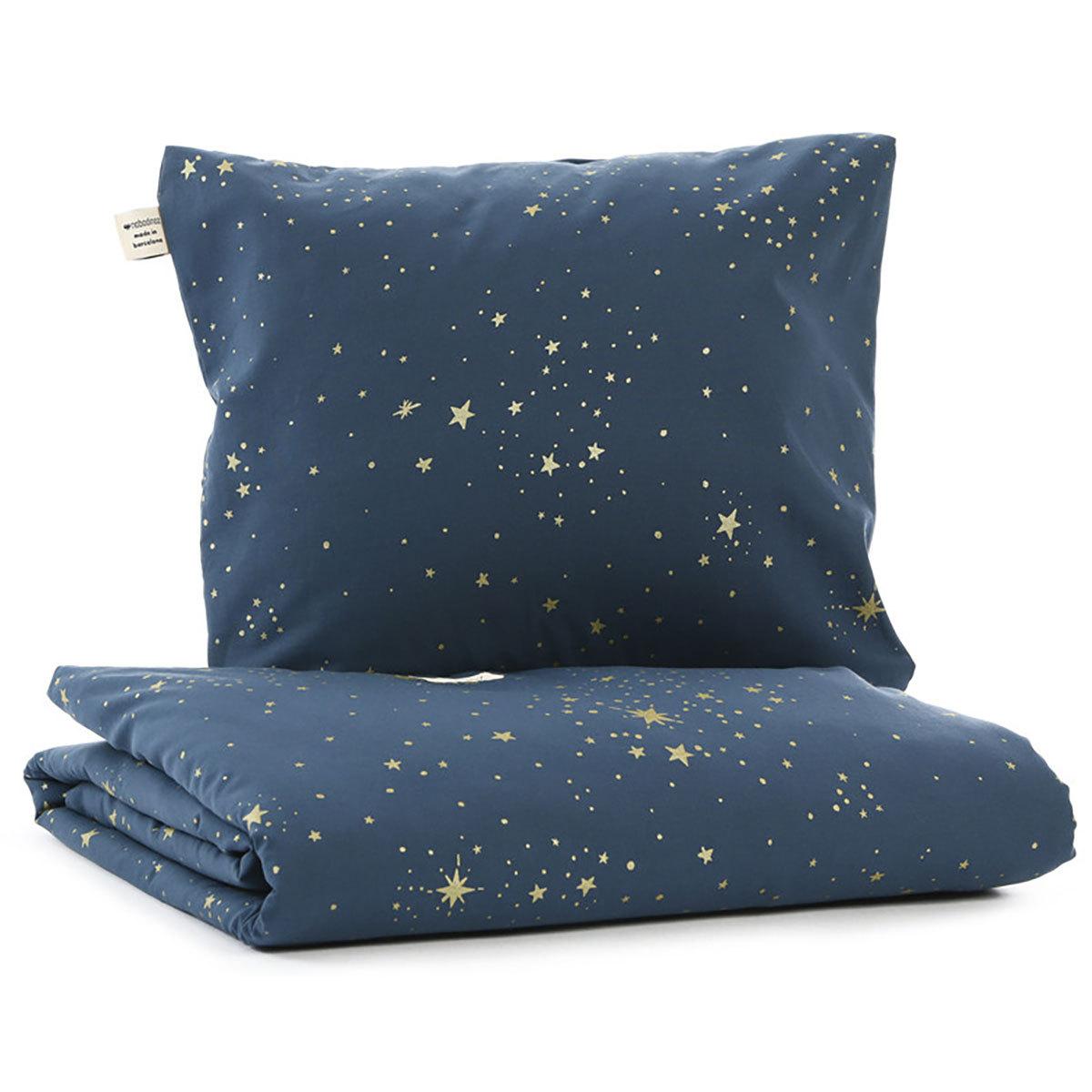 Linge de lit Parure de Lit Himalaya Gold Stella & Night Blue - 140 x 200 cm Nobodinoz - AR201911220085