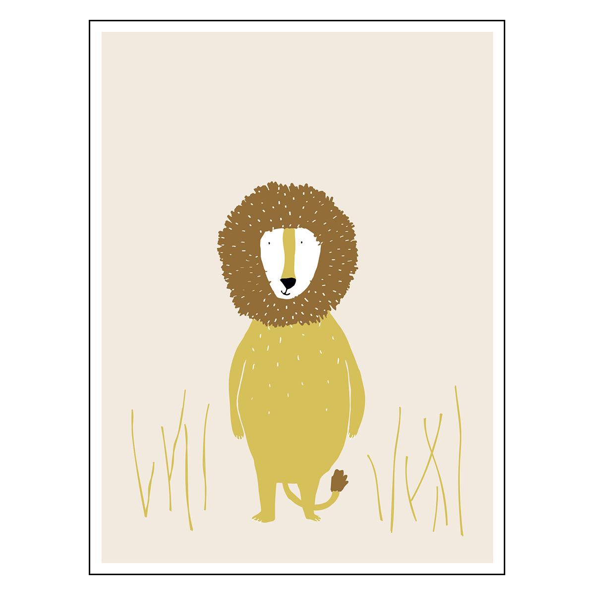 Affiche & poster Poster - Mr Lion Poster - Mr Lion