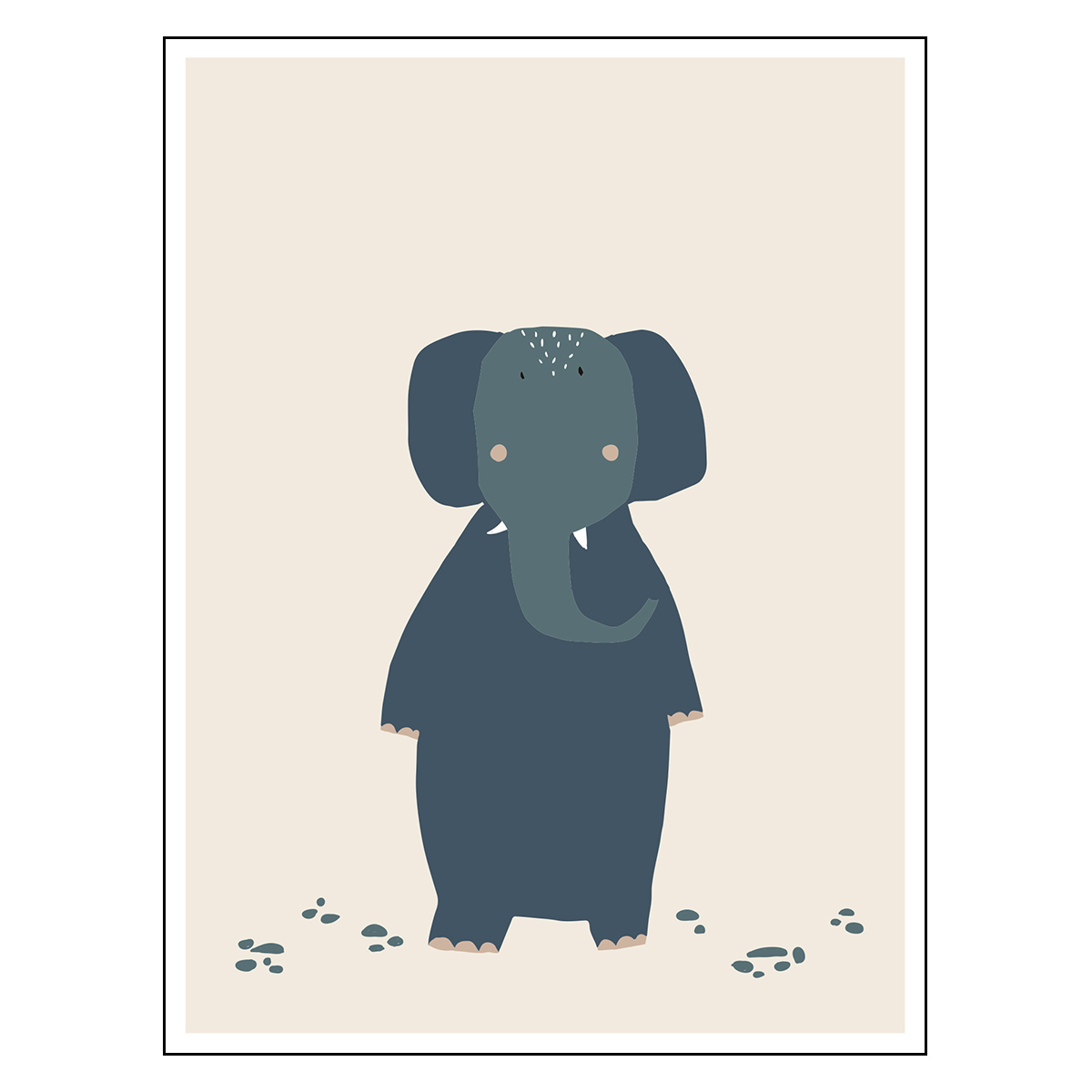 Affiche & poster Poster - Mrs Elephant Poster - Mrs Elephant