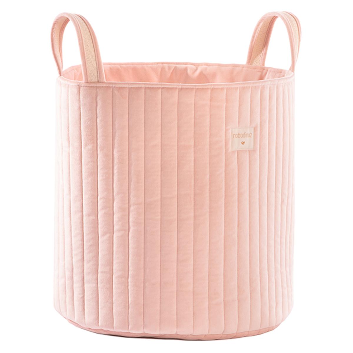 Rangement jouet Sac à Jouets Savanna Velvet - Bloom Pink Sac à Jouets Savanna Velvet - Bloom Pink