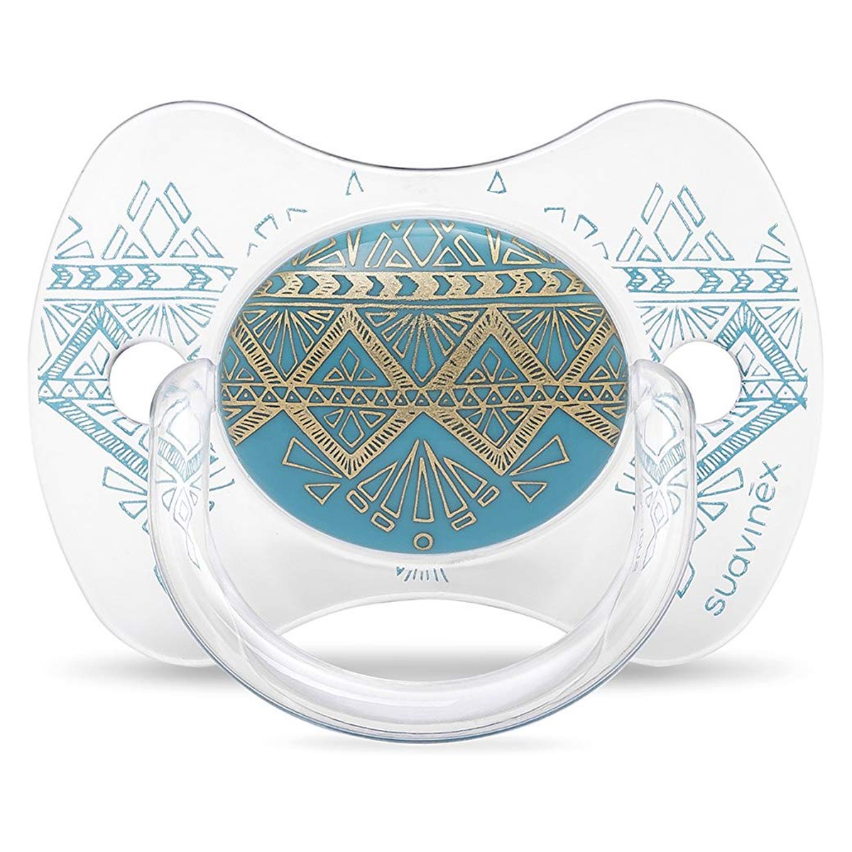Sucette Sucette Ethnic Turquoise - 18 Mois