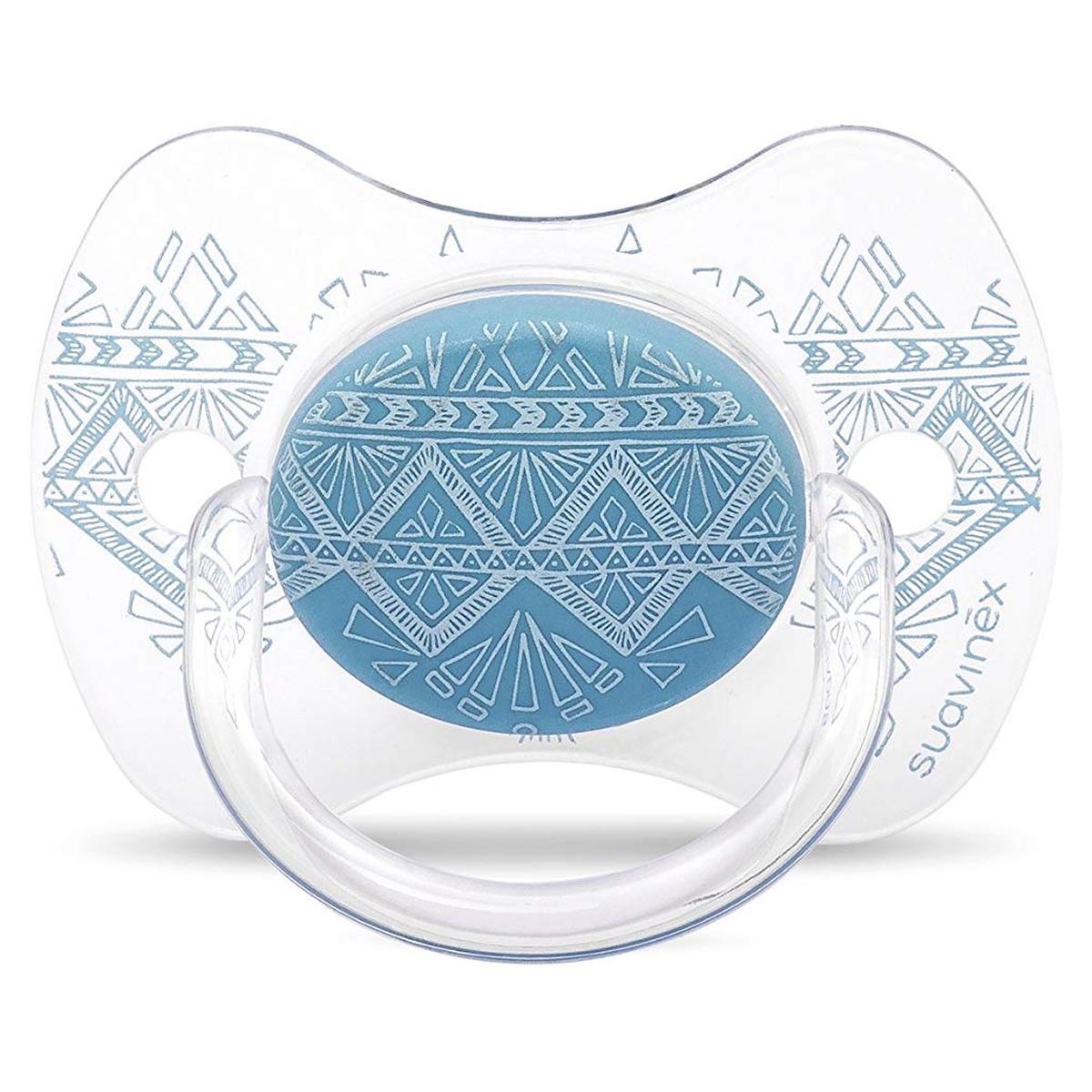 Sucette Sucette Ethnic Turquoise - 0/4 Mois