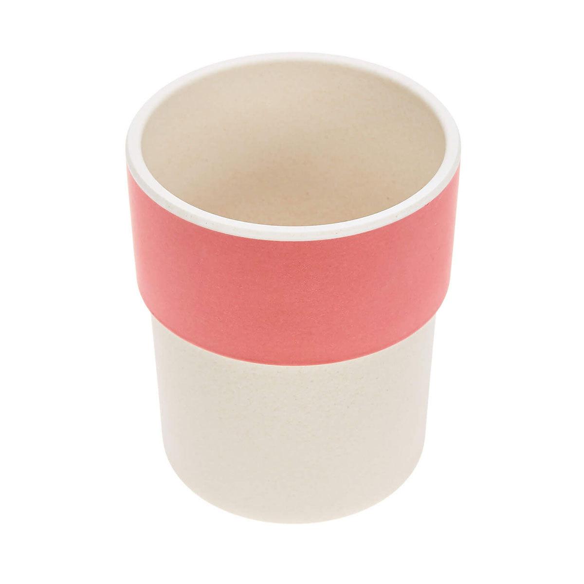 Tasse & Verre Tasse en Bambou Glama Lama - Corail Tasse en Bambou Glama Lama - Corail
