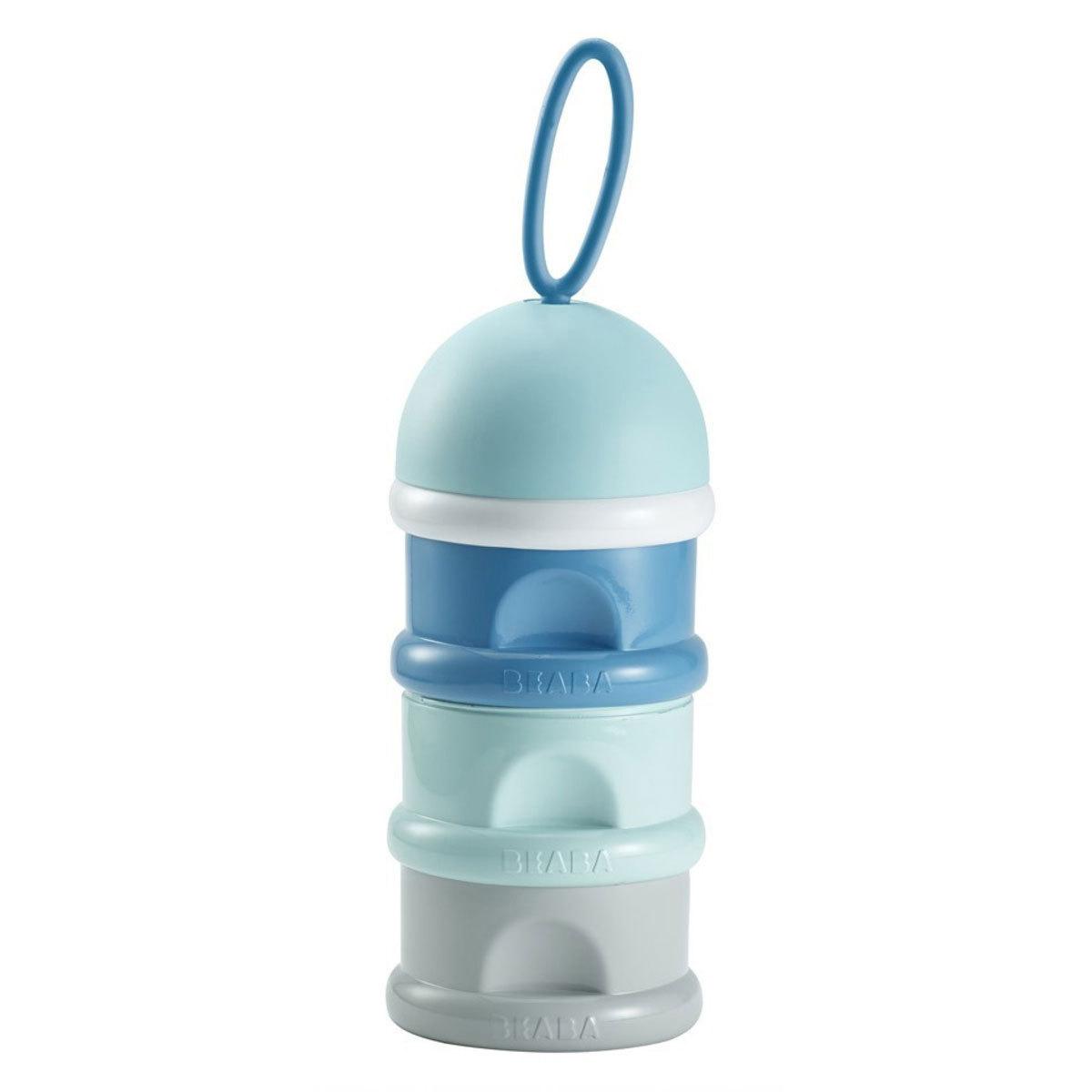 Boite doseuse biberon Boite Doseuse Empilable - Blue Boite Doseuse Empilable - Blue