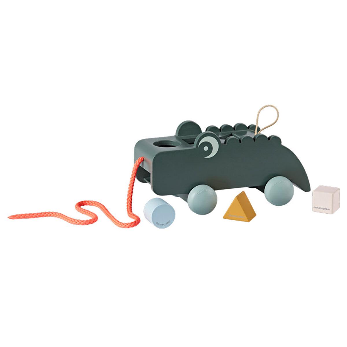 Mes premiers jouets Jouet à Tirer et Boîte à Formes Croco Jouet à Tirer et Boîte à Formes Croco
