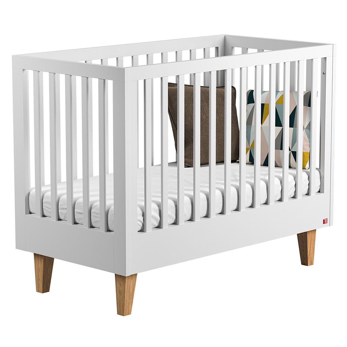 Lit bébé Lit Bébé Evolutif Lounge 70 x 140 cm - Blanc