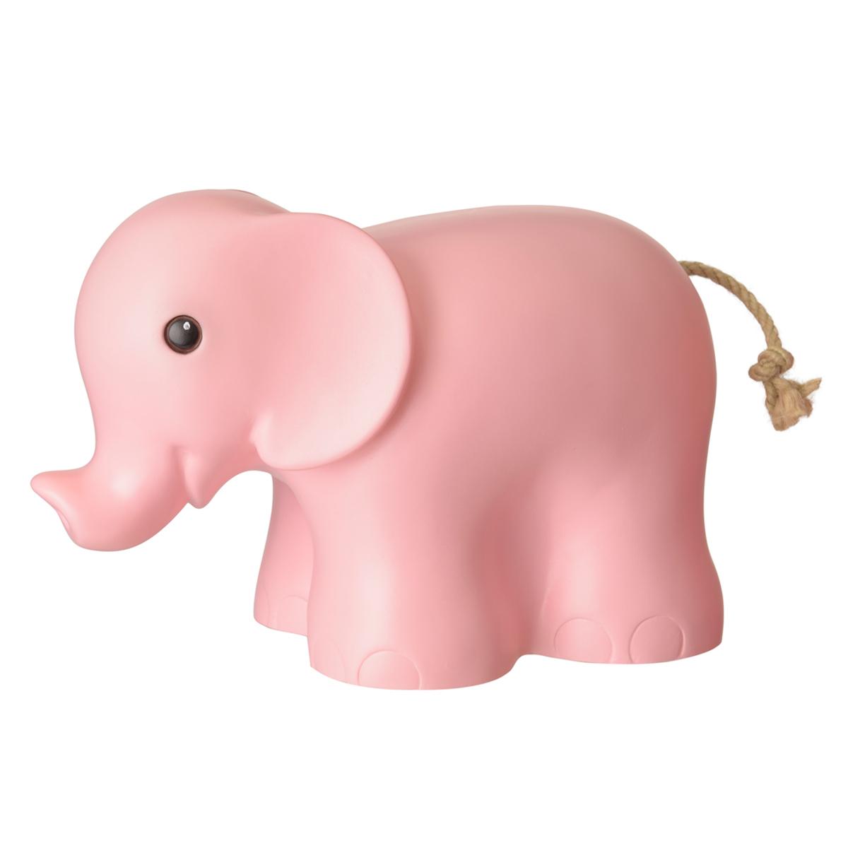 Lampe à poser Lampe Éléphant - Vieux Rose