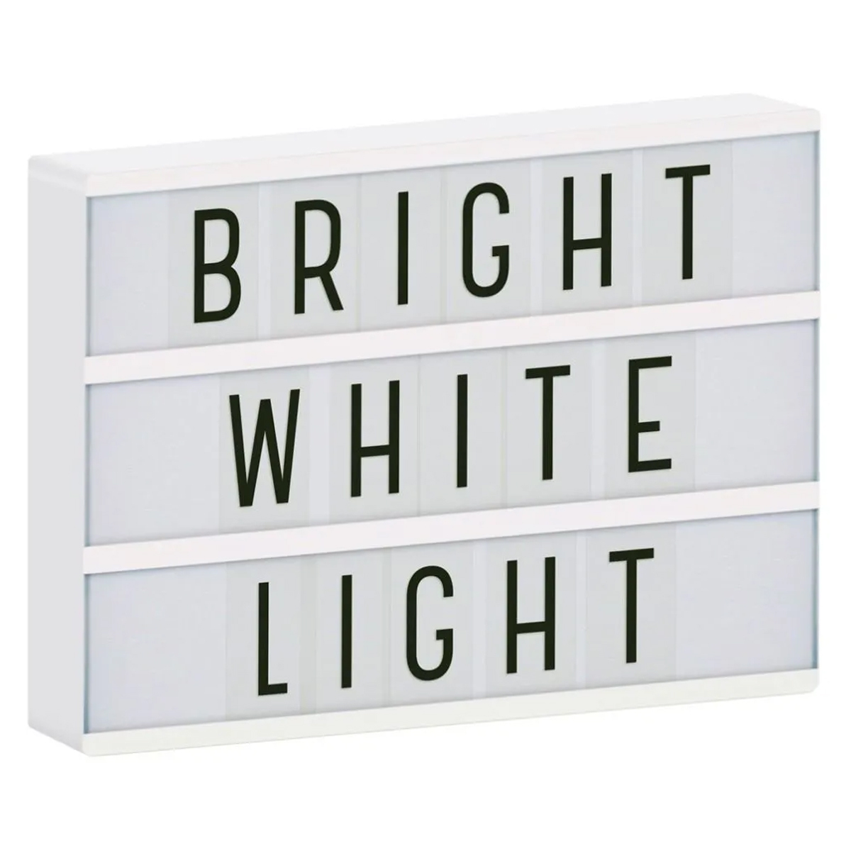 Lampe à poser Lightbox - Blanc