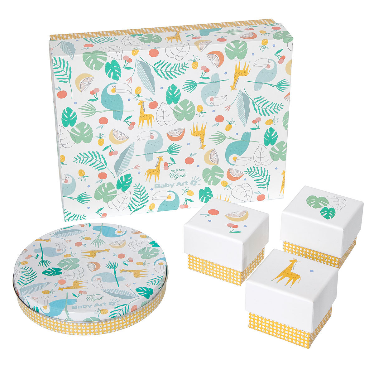 Empreinte & Moulage My Baby Gift Box Edition Llimitée - Mr & Mrs Clynk My Baby Gift Box Edition Llimitée - Mr & Mrs Clynk